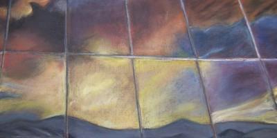reflejo ventanas xenia bonasso pastel