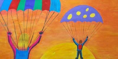 Taller para Niños de 5 a 12 años 28 paracaidas
